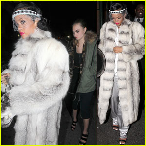 Cara Delevingne & Rihanna: NYC New Year's Eve!