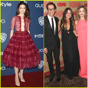 Crystal Reed & Sosie Bacon: Golden Globe After Party Gals