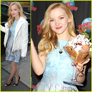 Dove Cameron: Pre-Planet Hollywood Birthday Stop; 'Liv & Maddie' Renewed for 2nd Season