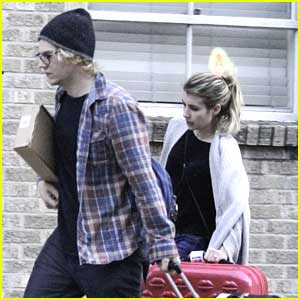 Emma Roberts & Evan Peters: Engaged!