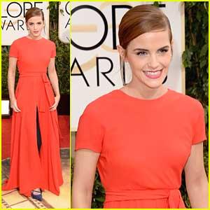 Emma Watson - Golden Globe Awards 2014