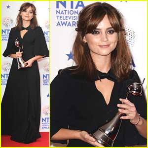 Jenna Coleman: 'Doctor Who' Wins at National Television Awards 2014