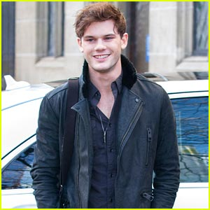 Jeremy Irvine Promotes 'The Railway Man' in London