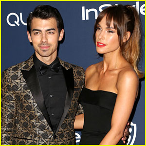 Joe Jonas & Blanda Eggenschwiler: InStyle Golden Globes 2014 After-Party