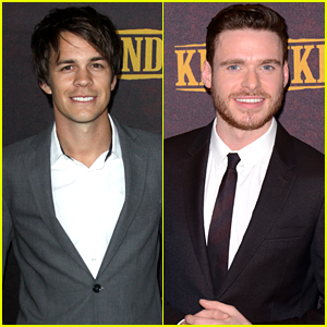 Johnny Simmons & Richard Madden Premiere 'Klondike' in NYC