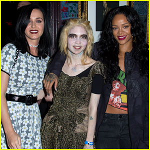 Katy Perry: Grimes Concert with BFF Rihanna!