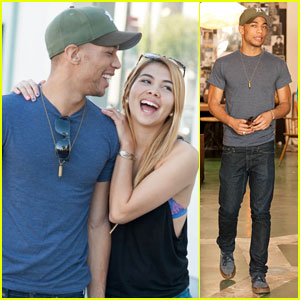 Kendrick Sampson: Cafe Midi Lunch with Hayley Kiyoko!