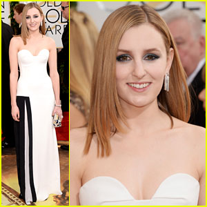 Laura Carmichael - Golden Globe Awards 2014
