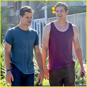 Max Carver & Daniel Sharman: Fan-Friendly in Rio!