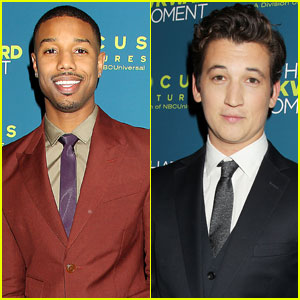 Michael B. Jordan & Miles Teller: 'That Awkward Moment' NYC Premiere