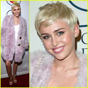 Miley Cyrus: Clive Davis Pre-Grammy Gala 2014