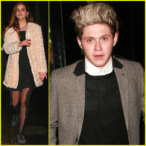 Niall Horan & Barbara Palvin: New Year's Eve Couple!