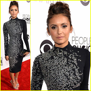 Nina Dobrev - People's Choice Awards 2014