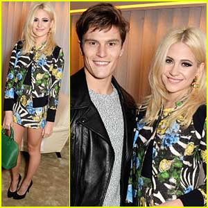 Pixie Lott & Oliver Cheshire: 'Guess' Dinner Guests