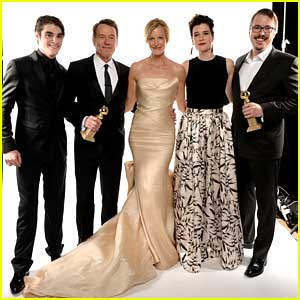 RJ Mitte: 'Breaking Bad' Wins Best Drama at Golden Globes 2014