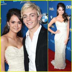 Ross Lynch & Maia Mitchell: DGA Awards 2014