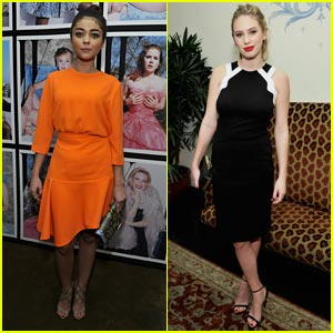 Sarah Hyland & Dylan Penn: Pre-Golden Globe Awards Party