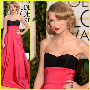 Taylor Swift - Golden Globe Awards 2014