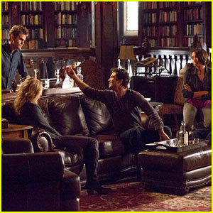'The Vampire Diaries' 100th Episode Pics!