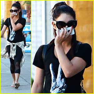 Vanessa Hudgens: Friday Pilates Class