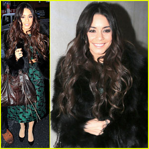 Vanessa Hudgens Promotes 'Gimme Shelter' on 'The Today Show'