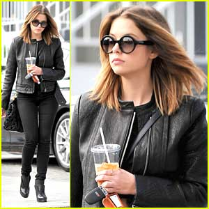 Ashley Benson: 'Brunettes Have More Fun!'