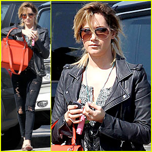Ashley Tisdale: Two Salon Stops in One Week