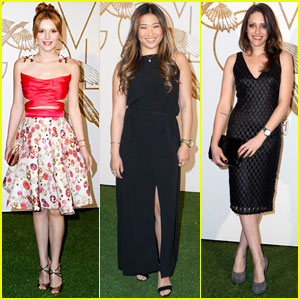 Bella Thorne & Jenna Ushkowitz: LoveGold Honors Lupita Nyong'o Event