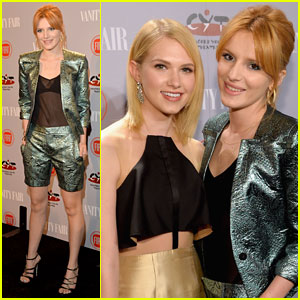 Bella Thorne: 'Vanity Fair' Young Hollywood Party with Claudia Lee!