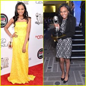 China McClain WINS at NAACP Image Awards 2014