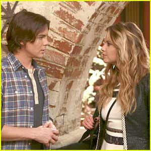 Hanna & Caleb Reunite on 'Ravenswood' Season Finale - See The Pics!
