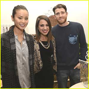Newly Engaged Jamie Chung & Bryan Greenberg Attend Sarah Boyd's Jewelry Collab Launch