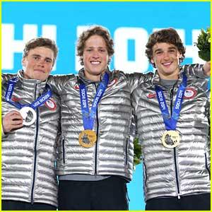 Joss Christensen, Gus Kenworthy & Nick Goepper Sweep Men's ...