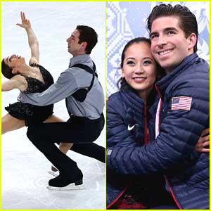 Pairs Skaters Marissa Castelli & Simon Shnapir Place 9th; Felicia Zhang & Nate Batholomay in 12th at Sochi Olympics