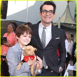 Max Charles: 'Mr. Peabody & Sherman' Paw Print Ceremony