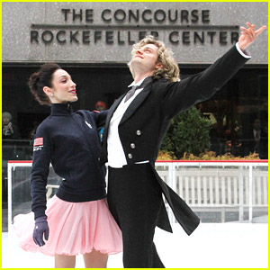 Meryl Davis & Charlie White Bring Moms to 'Today'