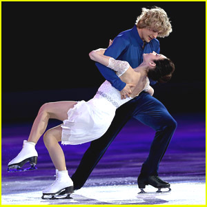 Meryl Davis & Charlie White Skate in Sochi Olympics Exhibition Gala With Fellow Gold Medalists