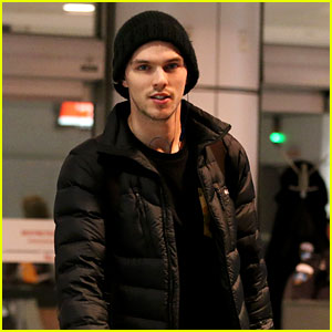 Nicholas Hoult Arrives in Montreal for 'X-Men' Re-Shoots