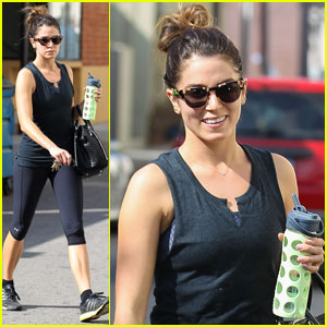 Nikki Reed Hits the Gym After Songwriting Session with Hubby Paul McDonald