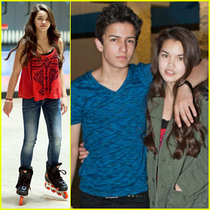 Paris Berelc & Aramis Knight: Roller Skating Date!