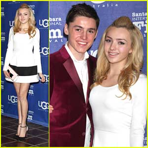 Peyton List: Santa Barbara Film Festival with Brother Spencer!