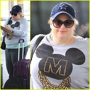 Rebel Wilson Returns From 'Night At The Museum 3' Shoots