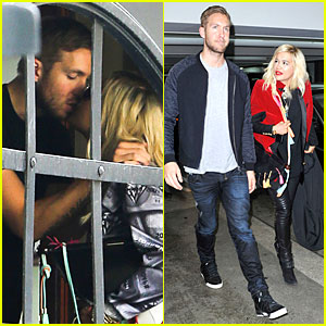 Rita Ora & Calvin Halvin Kissing at Friend's House!