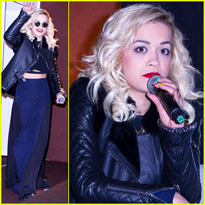 Rita Ora on Working with Boyfriend Calvin Harris: 'It Was So Natural'