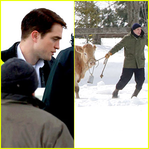 Robert Pattinson: Cattle Wrangler on 'Life' Set