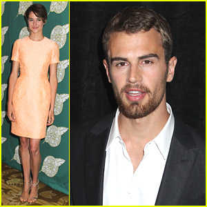 Shailene Woodley & Theo James Hit Up ICG Publicists Awards 2014
