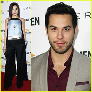 Skylar Astin: 'Caveman' Premiere with Chad Michael Murray