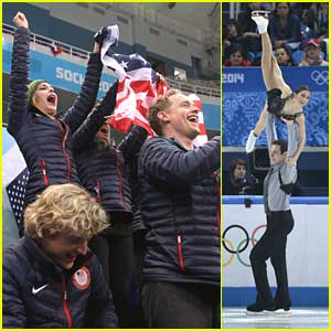 Team USA In 3rd Overall After Marissa Castelli & Simon Shnapir Pairs Free Skate in Team Event