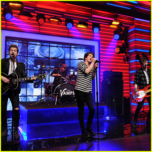 The Vamps Make Their U.S. Television Debut with 'Kelly & Michael' Performance - Watch Now!