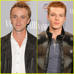 Tom Felton & Cameron Monaghan: 'Vanity Fair' Young Hollywood Guys